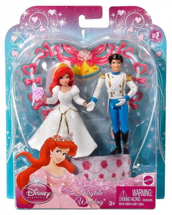 Disney Para Młoda ślub Roszpunki Komplet Mattel X9400